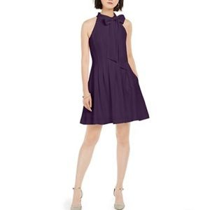 Vince Camuto Petite Bow-Tie Fit & Flare Dress NWT